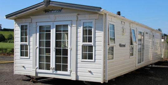 Used static caravans for sale with UK Holiday Homes Ltd