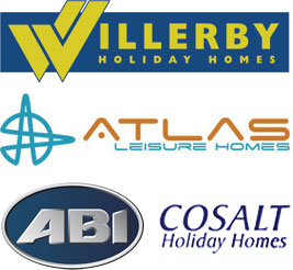 Holiday homes from Willerby, Atlas, ABI and Cosalt